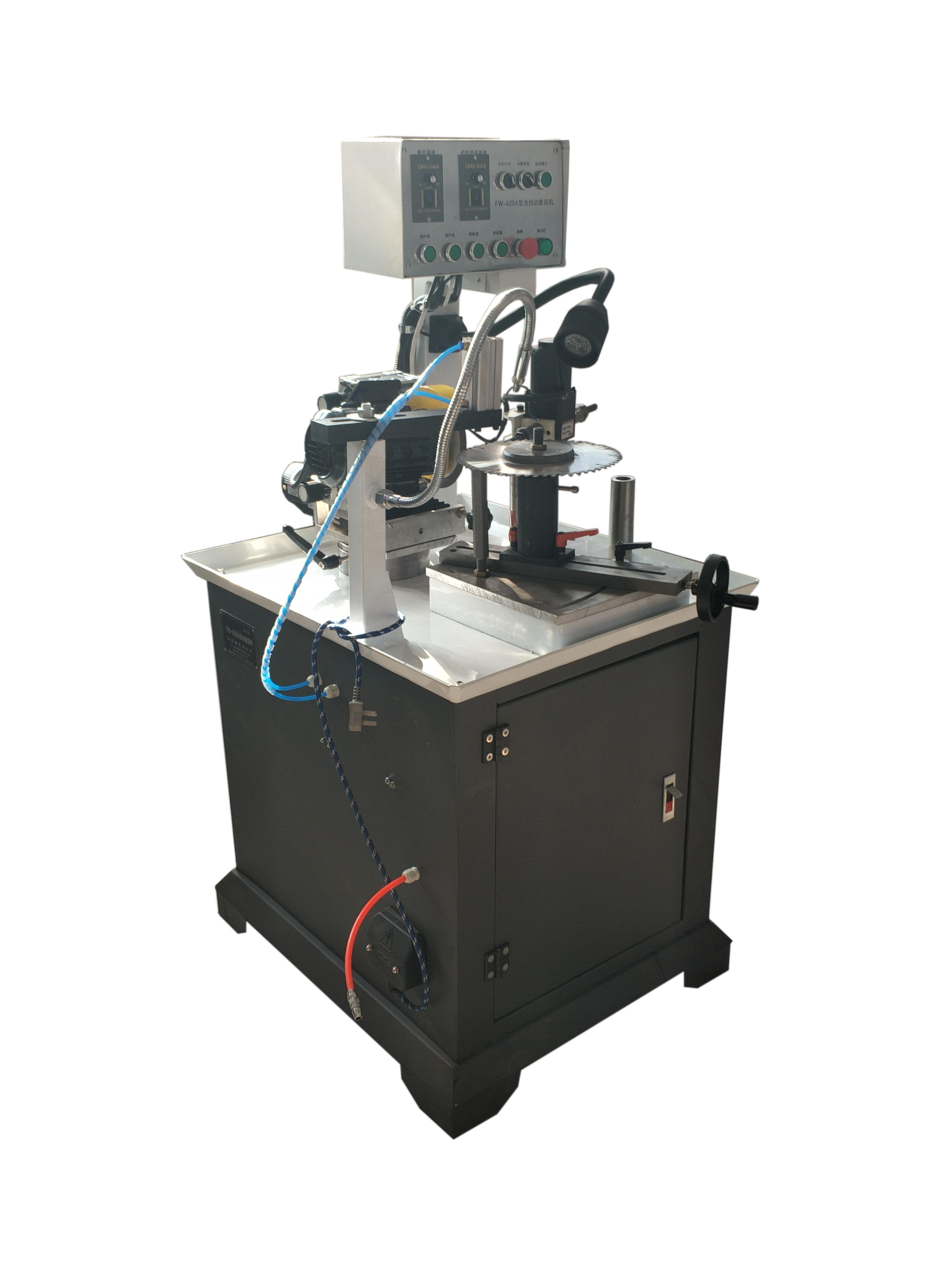 FW-600A 全自动磨齿机左右齿前角后角梯平齿自动合金锯片自动出  FW-600A全自动磨齿机