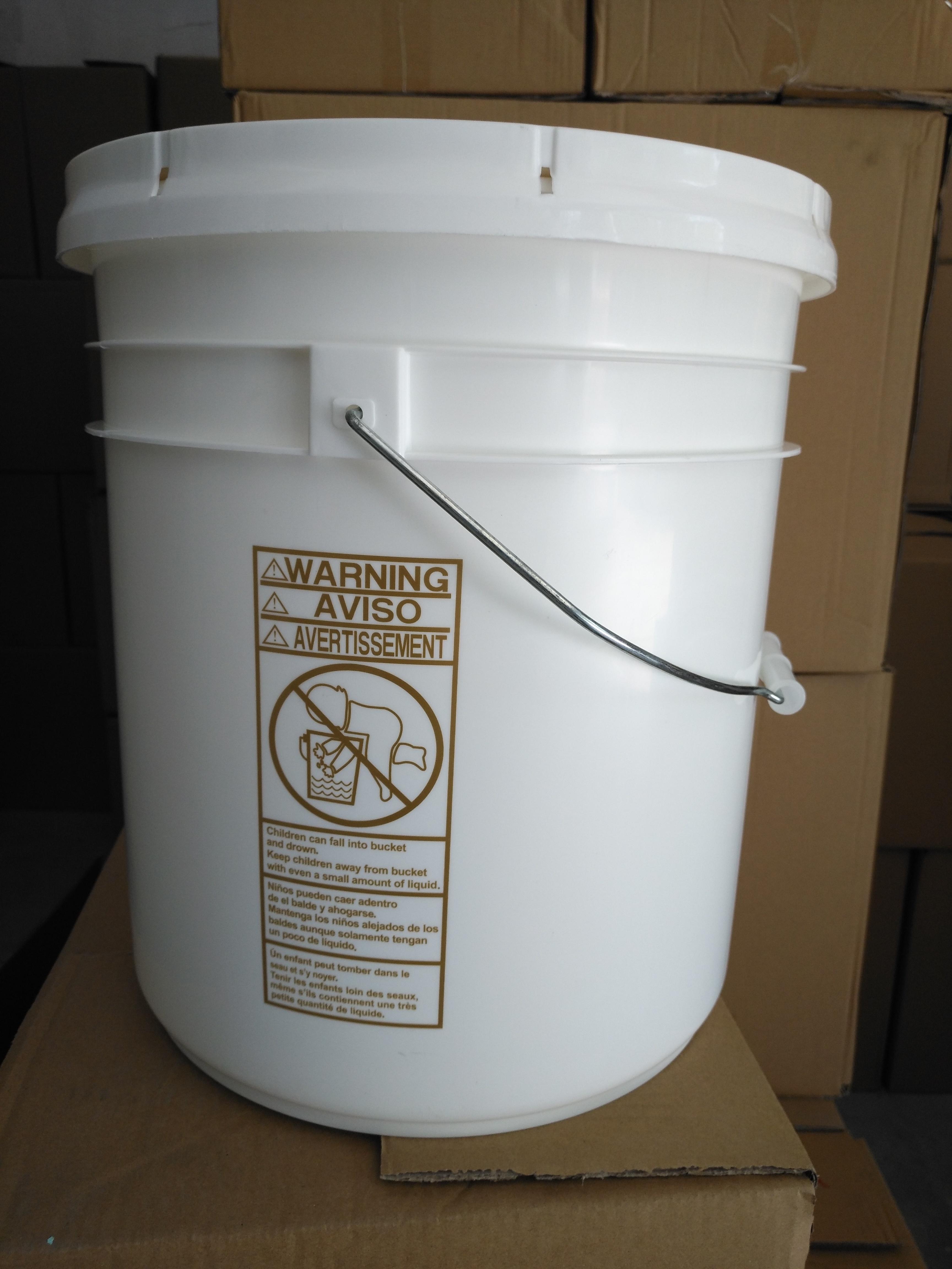 5GAL,20L双组份中空玻璃桶,硅酮 直身桶,直壁桶,直口桶