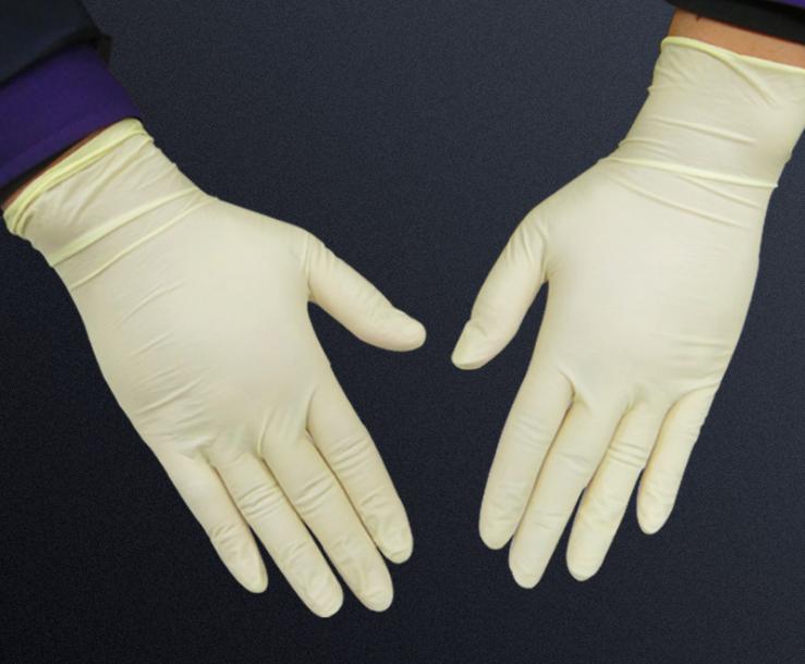 厂家直销一次性乳胶手套 工业使用乳胶手套 橡胶手套特价批发