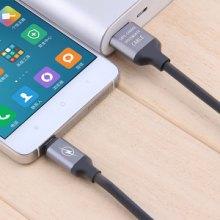 安卓手机平板电脑通用Q弹线-MICRO USB接口金属彩色快充线 厂家直供手机数据线价格咨询电话批发