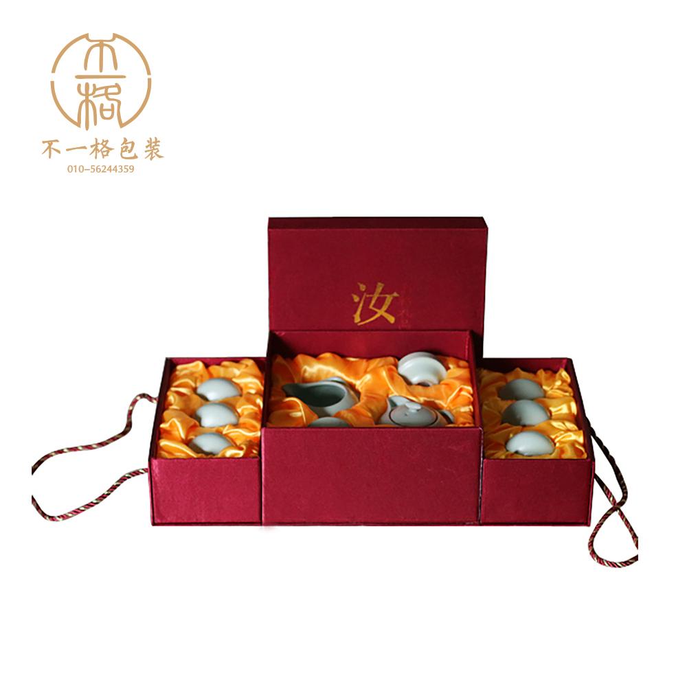 供应北京中式风茶具包装盒,用心生产制作包装盒厂家 北京茶具包装盒