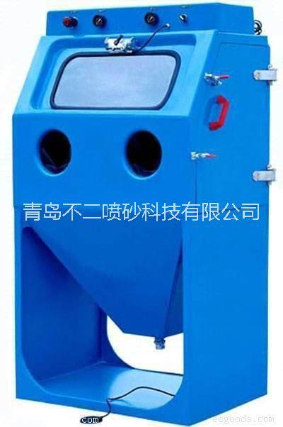 青岛不二液体水喷砂机 20年喷砂实践经验 青岛不二9080液体水喷砂机