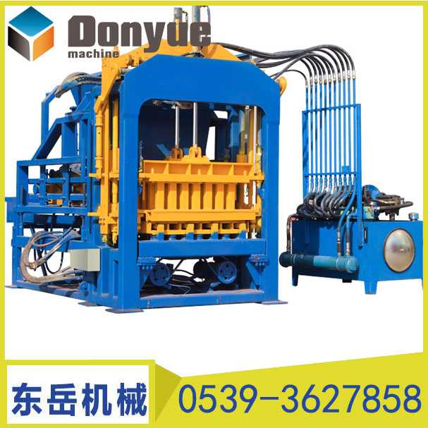 湖南QT4-15C全自动免烧砖机