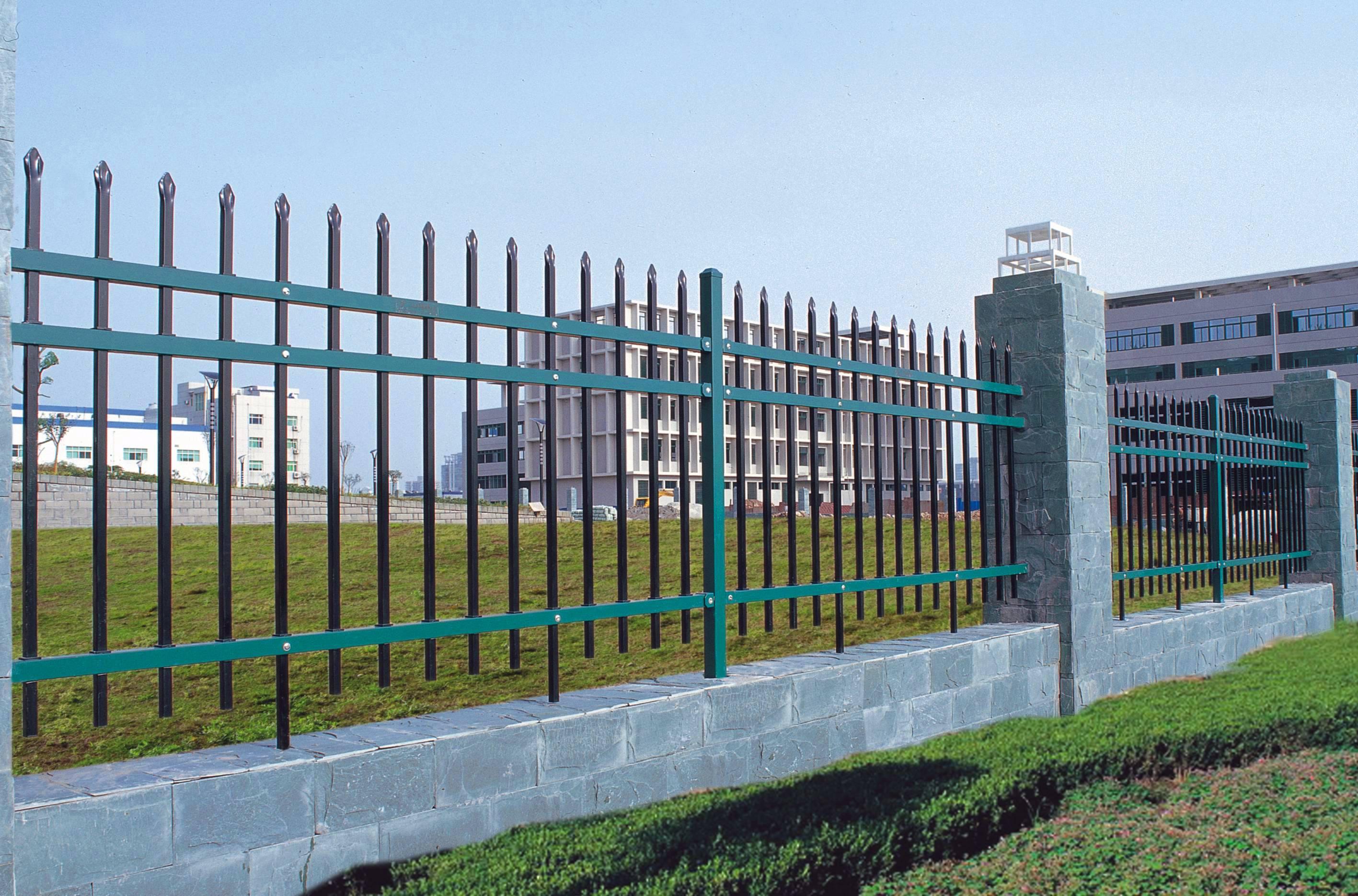 宜昌永奇金属锌钢围栏厂家定制加工直销