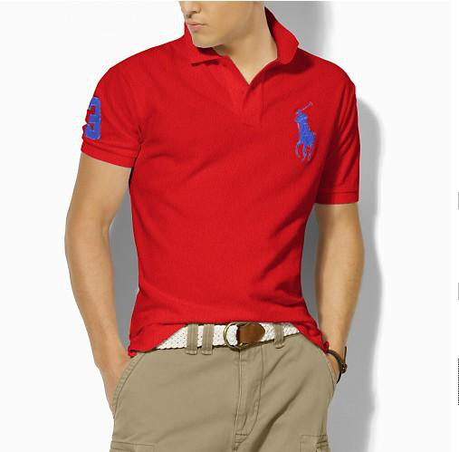男式T恤短袖POLO衫定做加工