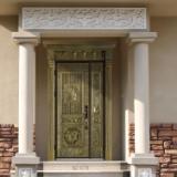 高档公寓别墅入户门贝尔卡洛意式铸铝门0.8cm厚实心铝板 上海包安装 上门测量入户门 上海市贝尔卡洛总经销