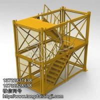 建筑安全护笼安全爬梯河北通达厂家