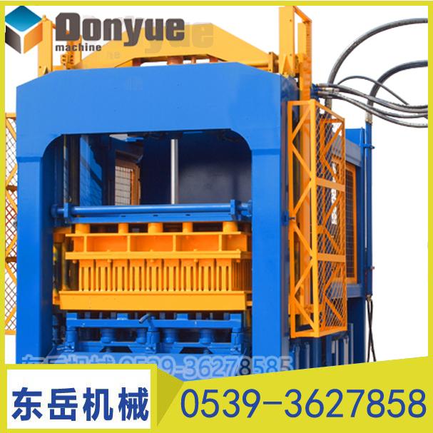 QT10-15砌块成型机 吉林大型全自动免烧砖机设备厂家直销