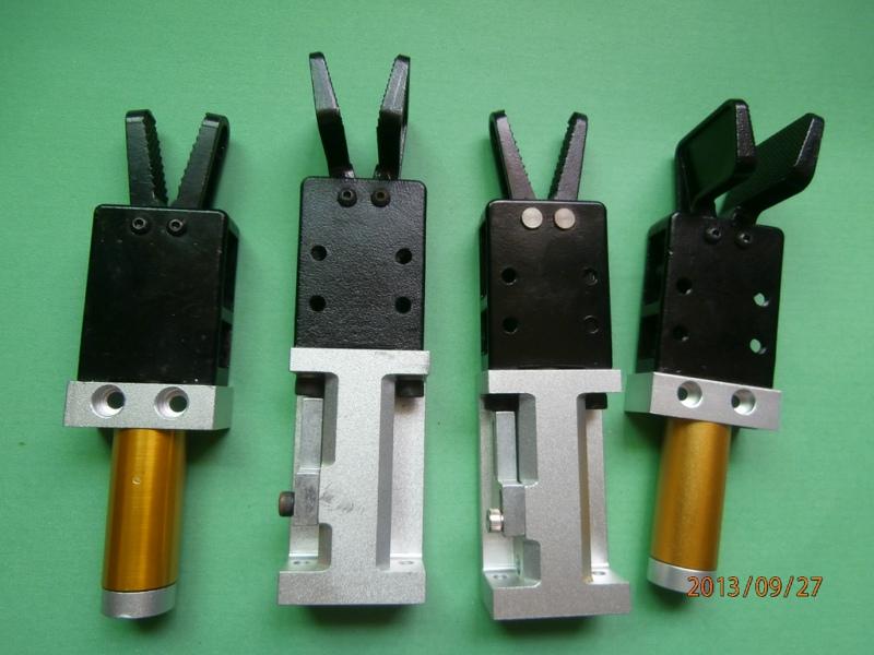 注塑机机械手配件  有信系列 气动水口夹具夹子  注塑机械手配件有信气动夹具