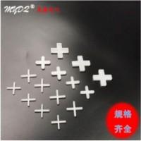 塑料瓷砖卡子 贴砖缝卡产品 定位找平器 十字架3.0MM/100装