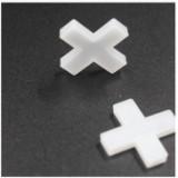 贴瓷砖定位十字架  瓷砖定位器 留缝工具  塑料十字架4.0MM 100只装