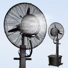 工业电喷雾风扇加水雾化加湿加冰商用户外强力降温升降落地扇摇头批发