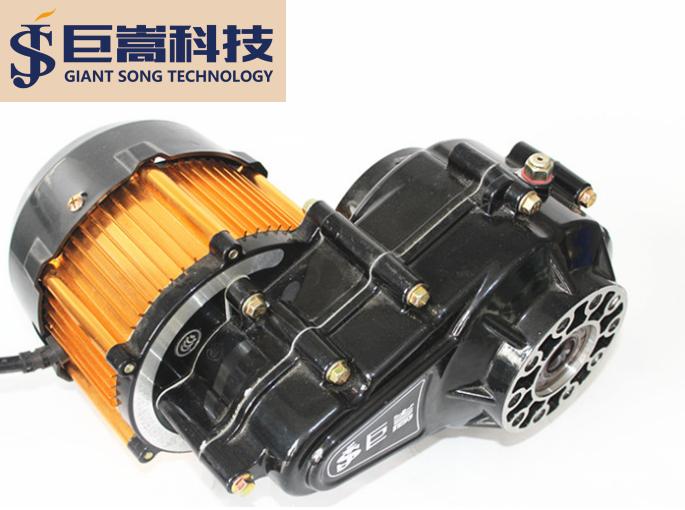 巨嵩电动三轮车电机 厂家直销  两轮车 无刷直流 交流异步电机