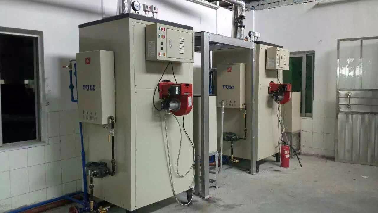 富力锅炉洗涤熨烫干洗机烘干机配套100公斤燃油燃气蒸汽锅炉