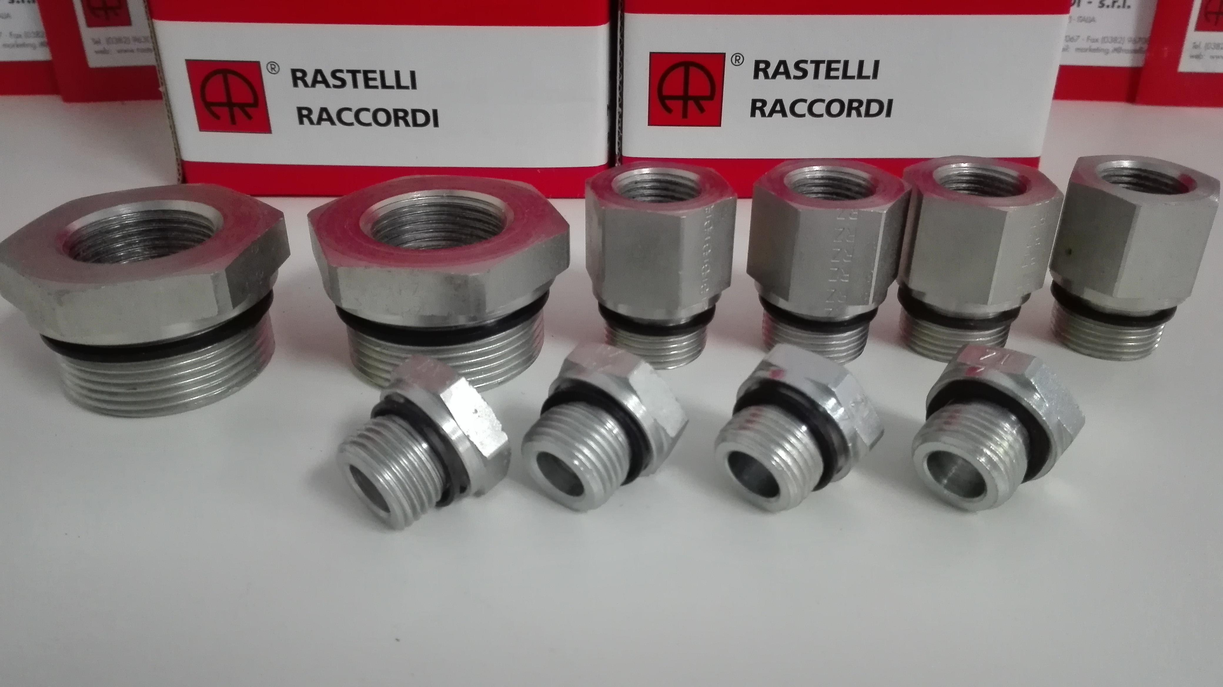 雷斯特利 TN141GG 变径补芯接头 卡套式接头 液压管路连接件