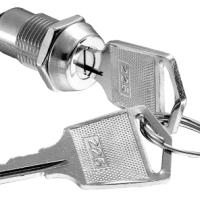 12mm焊线式排片安防钥匙开关