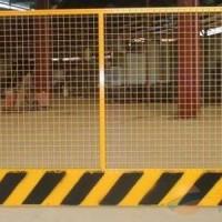 贵州基坑护栏采用铁丝焊接喷塑制成
