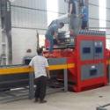 广州不锈钢双面自动喷砂机图片
