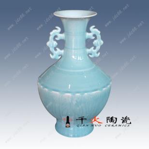 色釉花瓶  郎红花瓶图片