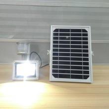 厂家直销10W红外感应太阳能泛光灯室外照明灯具批发