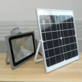 30W红外感应太阳能泛光灯 户外太阳能灯 批发室外照明灯具 led泛光灯厂家直销
