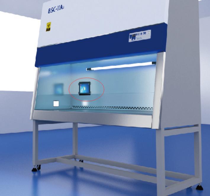 超净工作台专用嵌入式显示器工业级平板电脑/安卓平板电脑 生物安全柜专用嵌入式液晶屏显示器