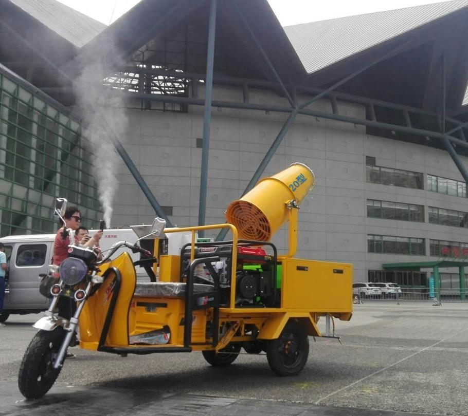 河南厂家直销20型电动三轮喷雾车 喷药车 环保农林降尘 40型电动三轮喷雾车