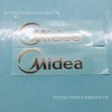 电镀镍片金属LOGO标签厂家供应 不干胶电镀金属贴纸定做镍标牌