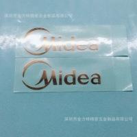 深圳厂家供应拉丝金属标贴、珍珠沙电铸镍标、真金、玫瑰金电铸标