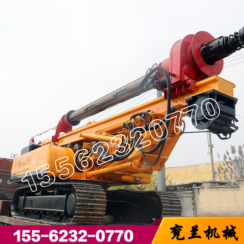 20米小型机锁杆旋挖钻机 小型液压机锁杆旋挖钻机
