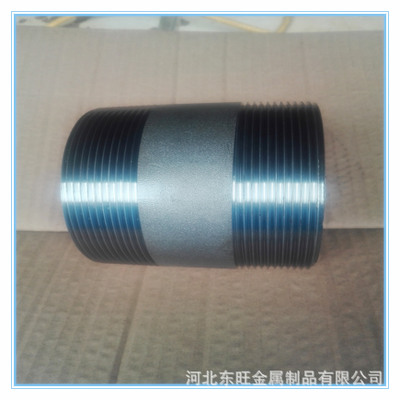 【厂家直销】优质碳钢管件接头 钢管外丝接头