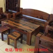老船木沙发茶几组合家具中式仿古原生态沙发组合客厅茶几万字组合批发