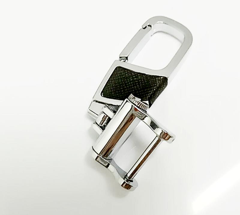 直供金属创意贴皮扣皮质高档腰挂