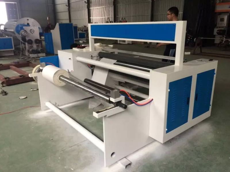 软纸芯全自动复卷机 温州多功能高品质塑料薄膜自动分卷复卷机