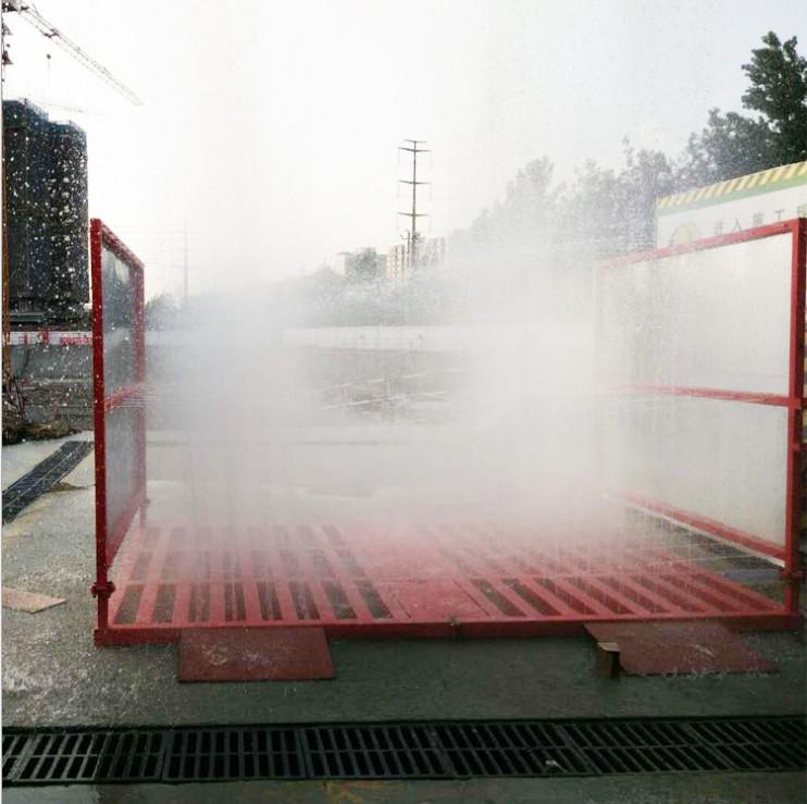 免基础工地洗轮机 厂家批发100吨工程洗车机 全自动汽车冲洗设备 洗车机、洗轮机