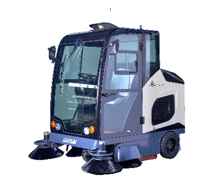 全封闭驾驶型扫吸结合扫地车  柳宝LB-2000矿区工厂扫地车