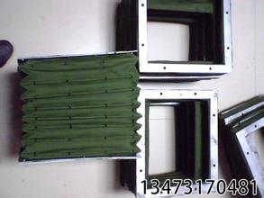 绿色帆布软连接生产厂家