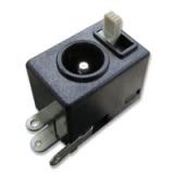 台湾制造 高品质 超小型有滑动开关的直流电源插座