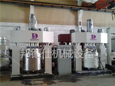 供应江门玻璃胶基料分散设备 广东强力分散机 玻璃胶分散机设备