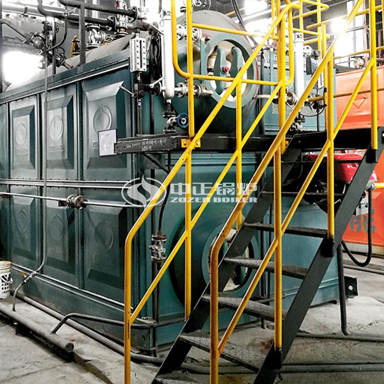 6吨SZS节能冷凝式燃气蒸汽锅炉|电缆行业必选
