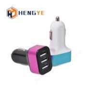 三口USB车充图片