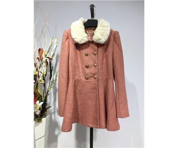 棉服呢子大衣 品牌折扣女装批发 低价厂家直销