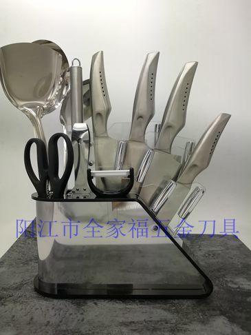 阳江家用厨房套刀一套齐全十二件套