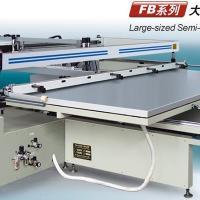 大型跑台式丝网印刷机