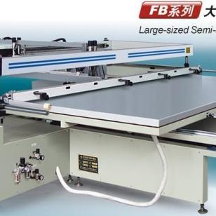 大型跑台式丝网印刷机图片