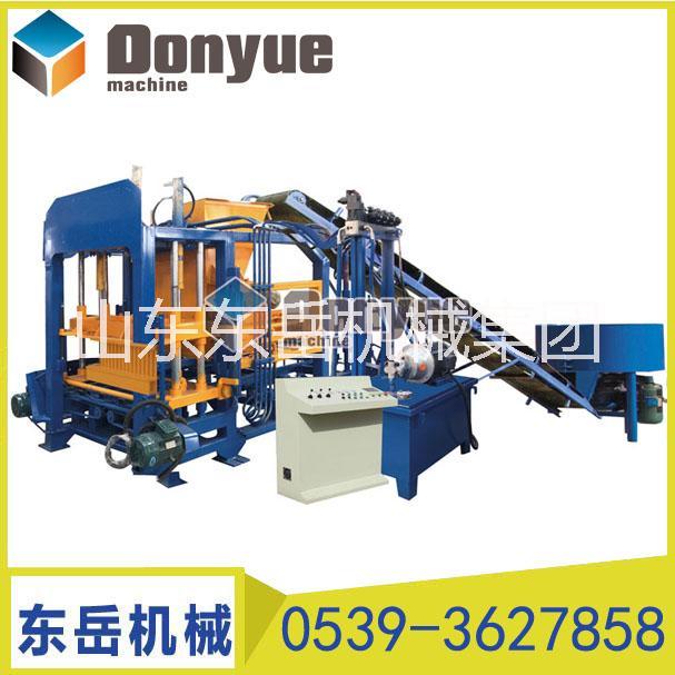 山东东岳QT4-15S环保砖机 小型全自动砌块成型机