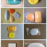 供应宾馆酒店一次性用品香皂浴场外贸香皂透明皂