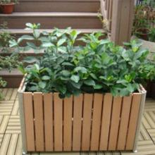 供应用于公共环卫设施的木制花箱 木制花箱厂家直销批发