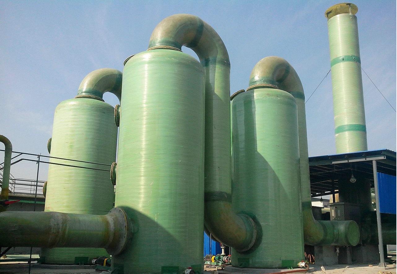 江苏生产小型玻璃钢脱硫塔厂家
