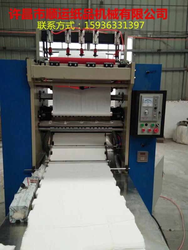 抽纸机,加工抽纸的抽纸机多少钱一台?许昌顺运纸品机械